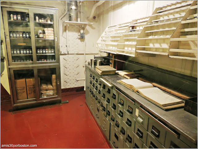 Farmacia del USS Massachusetts