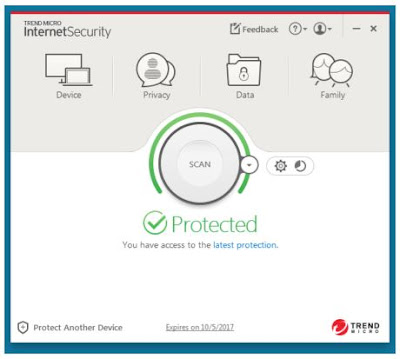 Trend Micro Internet Security version 11.0