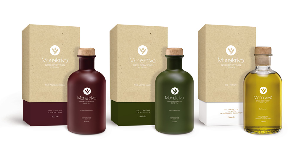 Monakrivo Olive Oil On Packaging Of The World Creative