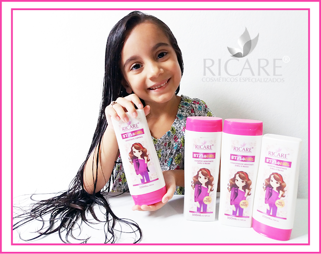 Linha Infantil Style Girl Ricare Cosmeticos