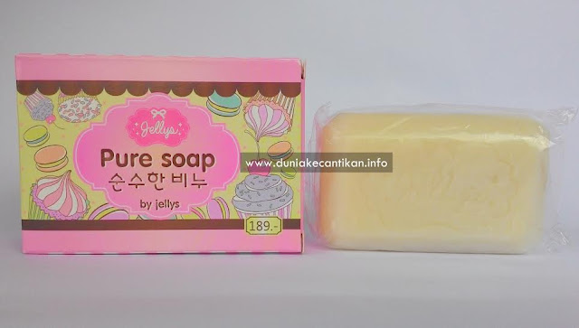 Jelly Pure Soap Sabun Unggulan Untuk Memutihkan Kulit