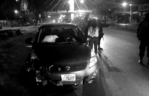 Acusada de arrollar a discapacitados en Cochabamba se beneficia con detención domiciliaria