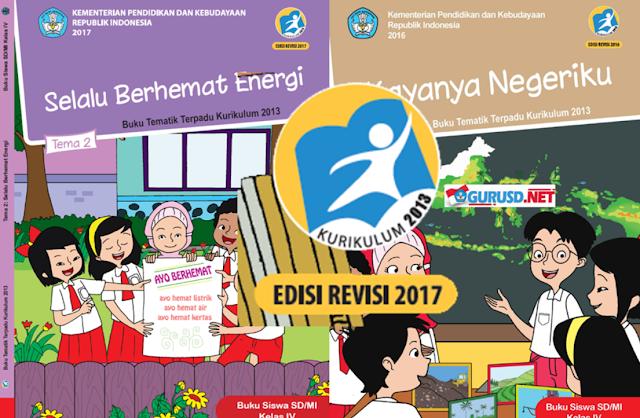 Buku Kelas 4 Kurikulum 2013 Revisi Tahun 2017 Semester 1 Dan 2