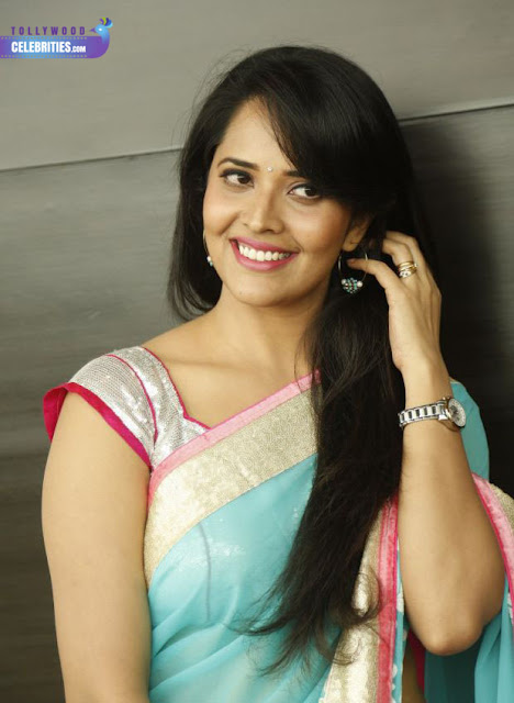 Tollywood Celebrities Anasuya Profile