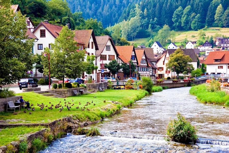 Los pueblos alemanes típicos de La Selva Negra