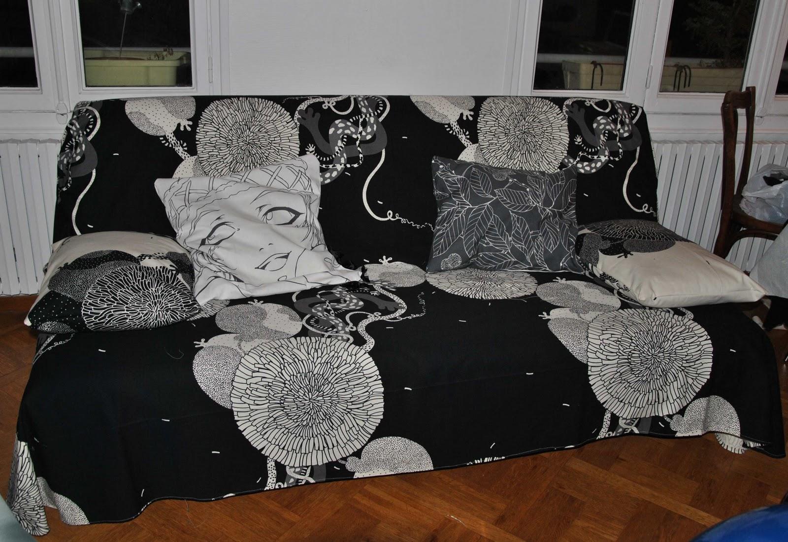 comment coudre une housse de clic clac. Black Bedroom Furniture Sets. Home Design Ideas