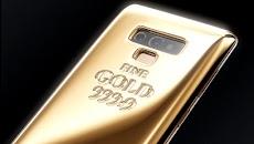 Harga Samsung Galaxy Note 9 Fine Gold Edition Dengan Emas 1Kg