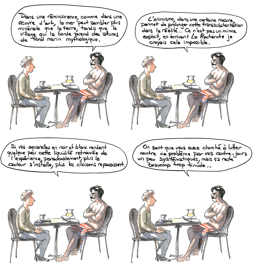 Proust se fait dédicacer Anent. Nouvelles des Indiens Jivaros