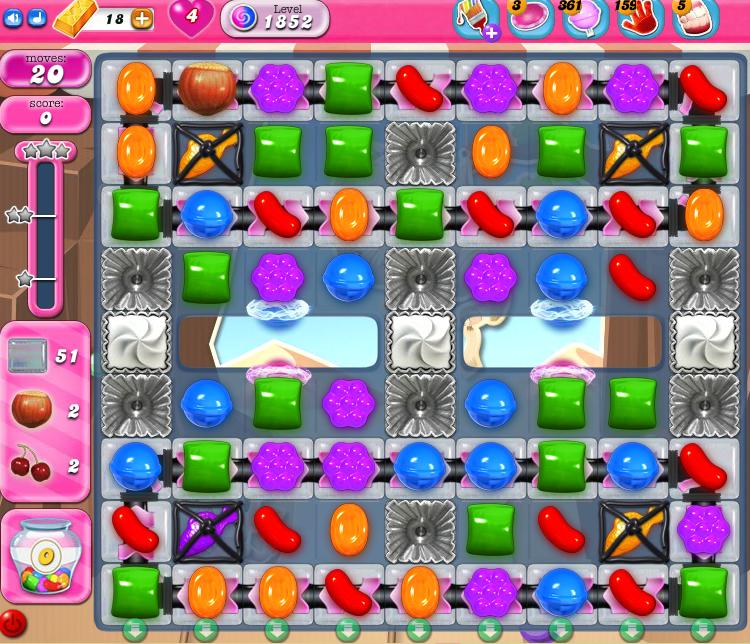 Candy Crush Saga 1852