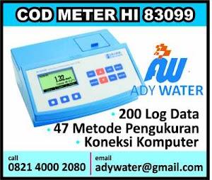 Harga BOD COD Meter untuk Filter Air Bersih, Air Minum, Industri, IPAL Murah | Ady Lab Jual BOD COD Meter merek Hanna