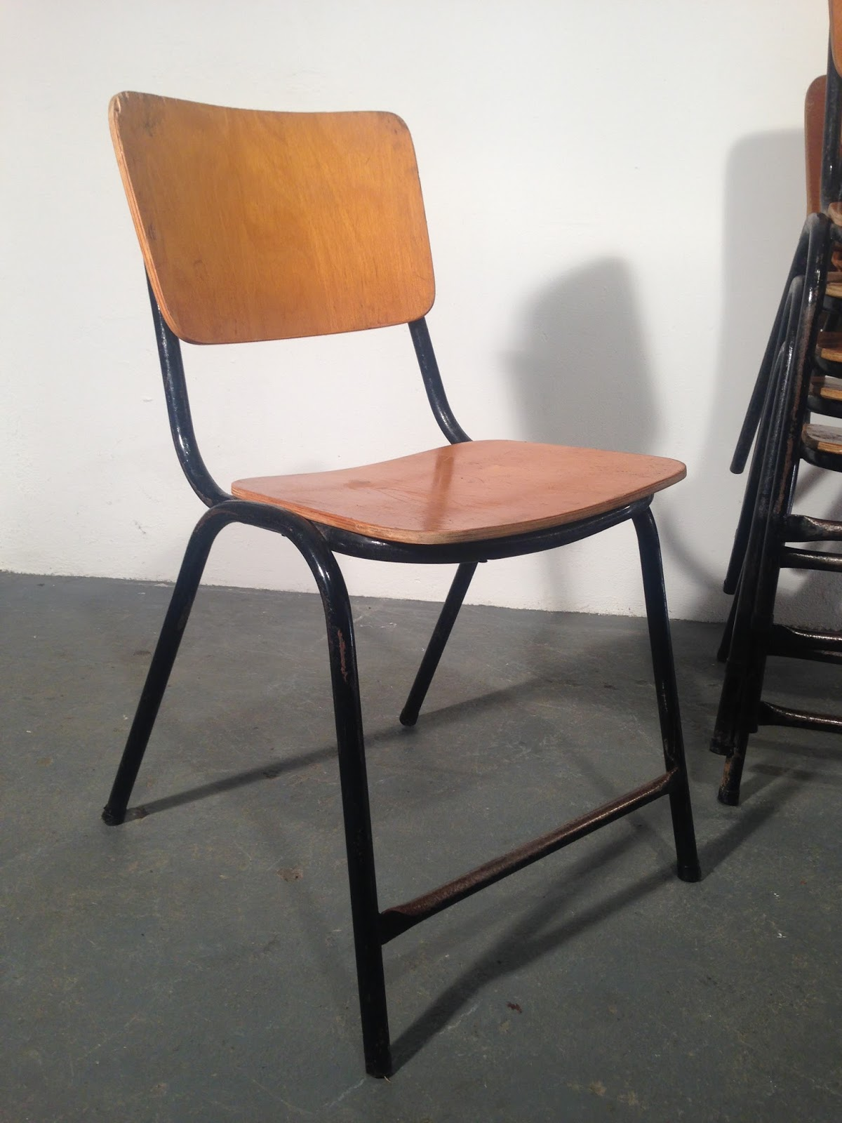 retro dining chairs ireland revolving chair meaning in urdu ocd vintage furniture stacking
