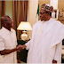 Oshiomhole speaks after meeting with Buhari