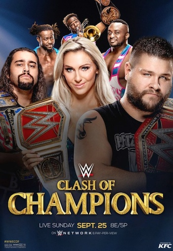WWE Clash of Champions 2016 750MB WEBRip 720p