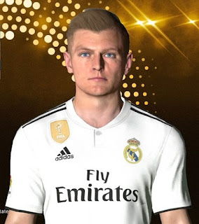 PES 2017 Faces Toni Kroos by Facemaker Ahmed El Shenawy