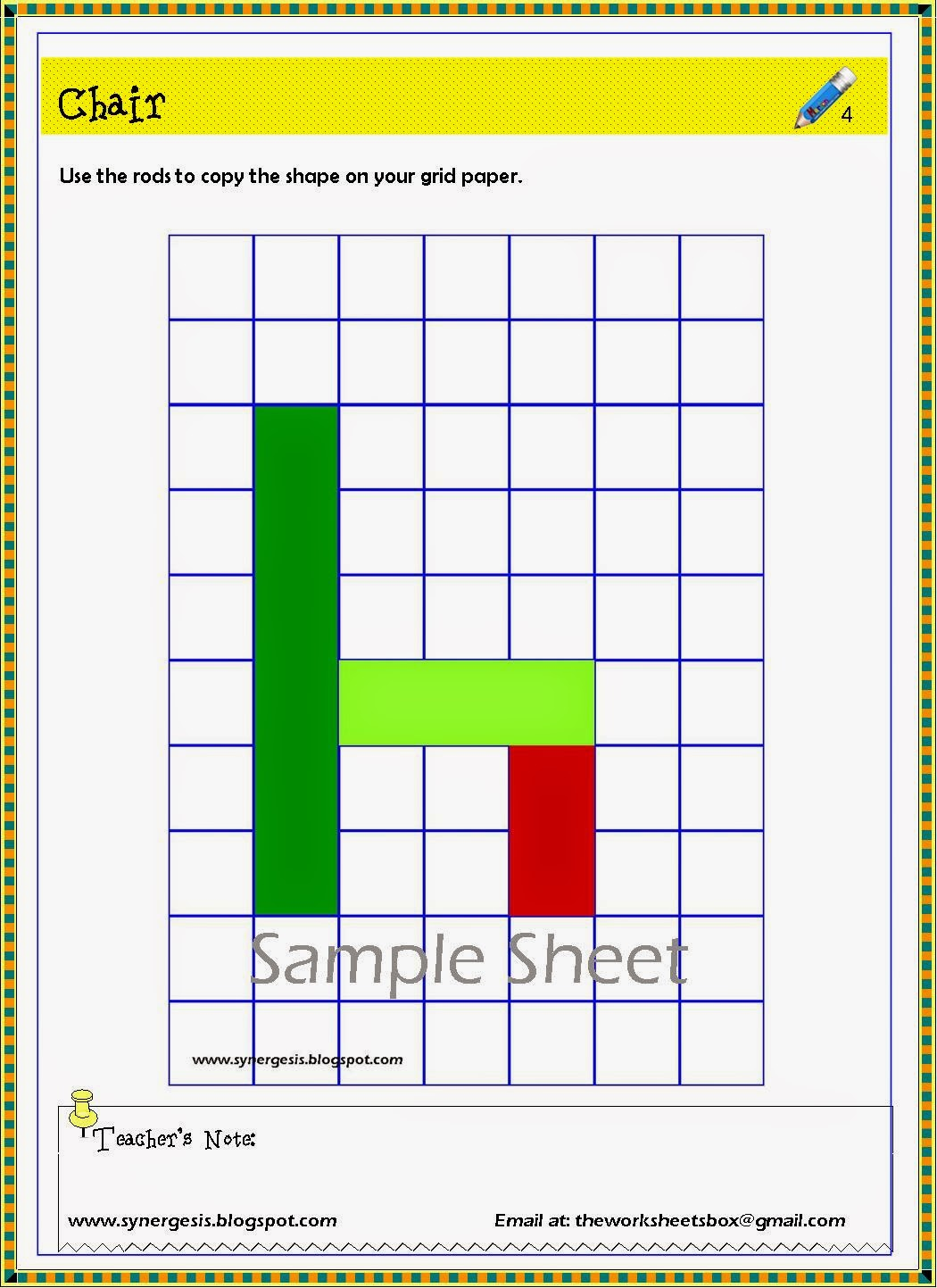 The Worksheets Box Fractions