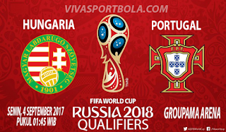 Prediksi Hungaria vs Portugal 4 September 2017