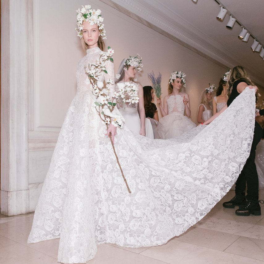 Reem Acra Bridal Wedding Dress Spring 2019 New York Cool Chic