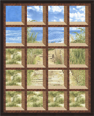 Quilt Inspiration Free Pattern Day Attic Windows Quilts Awesome Attic Window Quilt Pattern