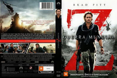 Filme Guerra Mundial Z (World War Z) DVD Capa