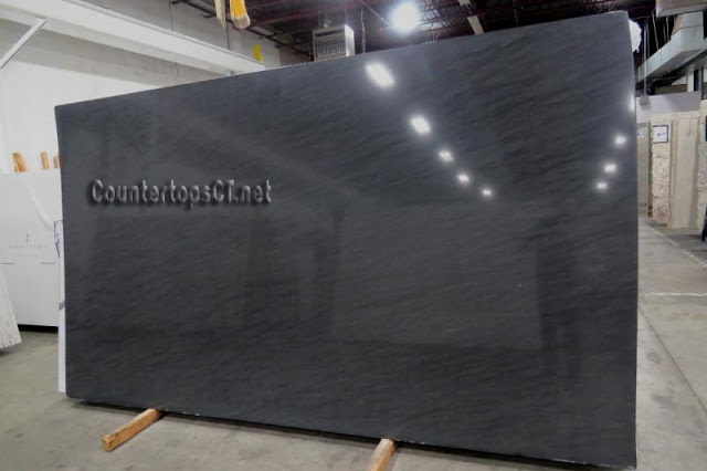 3cm Black vermont Marble Countertops, Marble Slabs