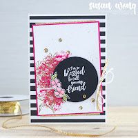 Southern Serenade + Tutti-frutti DSP - Susan Wong for The Love of Creating Blog Hop