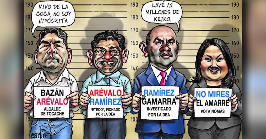 Carlincaturas Lunes 7 Agosto 2017 - La República