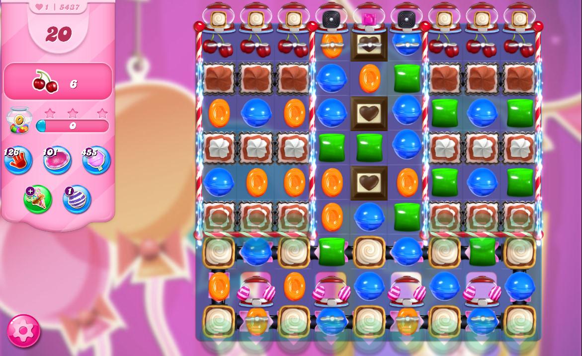 Candy Crush Saga level 5437
