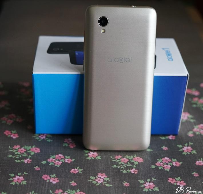 Tesco Mobile Alcatel 1 Gold