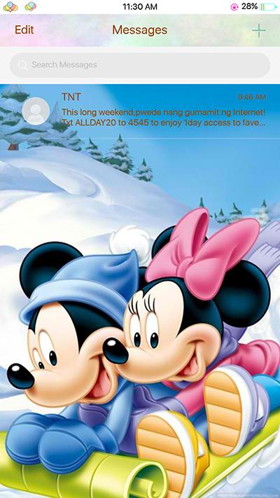 Oppo F3 Theme Mickey Mouse Theme