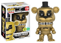 Pop! Games: Five Nights at Freddy's - Golden Freddy.