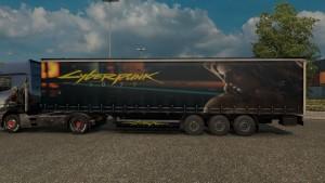 Cyverpunk 2077 trailer mod