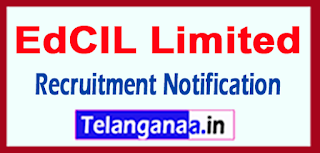 EdCIL Limited Recruitment Notification 2017 Last Date 21-05-2017
