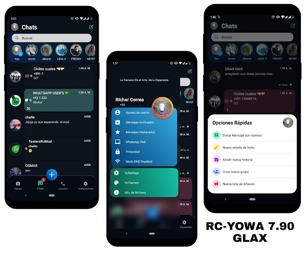 RC YOWhatsApp v7.90 GLAX Edition Latest Version