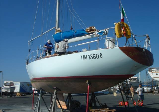 RB Sailing Resolute Salmon Chance One Tonner
