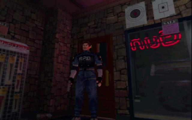 Resident Evil 2 - PSX - Captura 1
