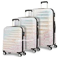 Logo Vinci gratis un set di Trolley American Tourister