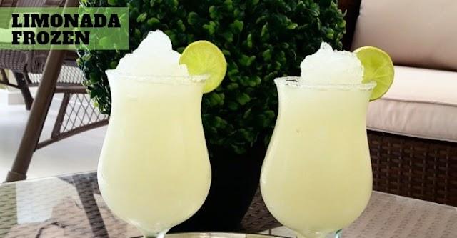 Limonada Frozen 🥇 Super Refrescante