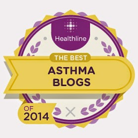 Top 10 Asthma Blogs 2014 by Healthline