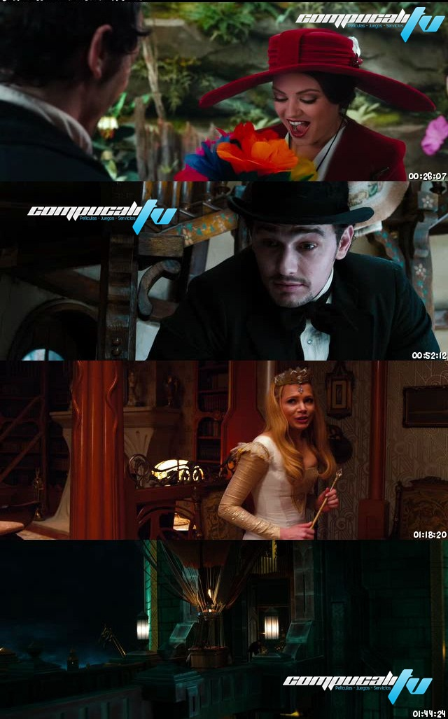 Oz, un mundo de fantasía DVDRip Español Latino