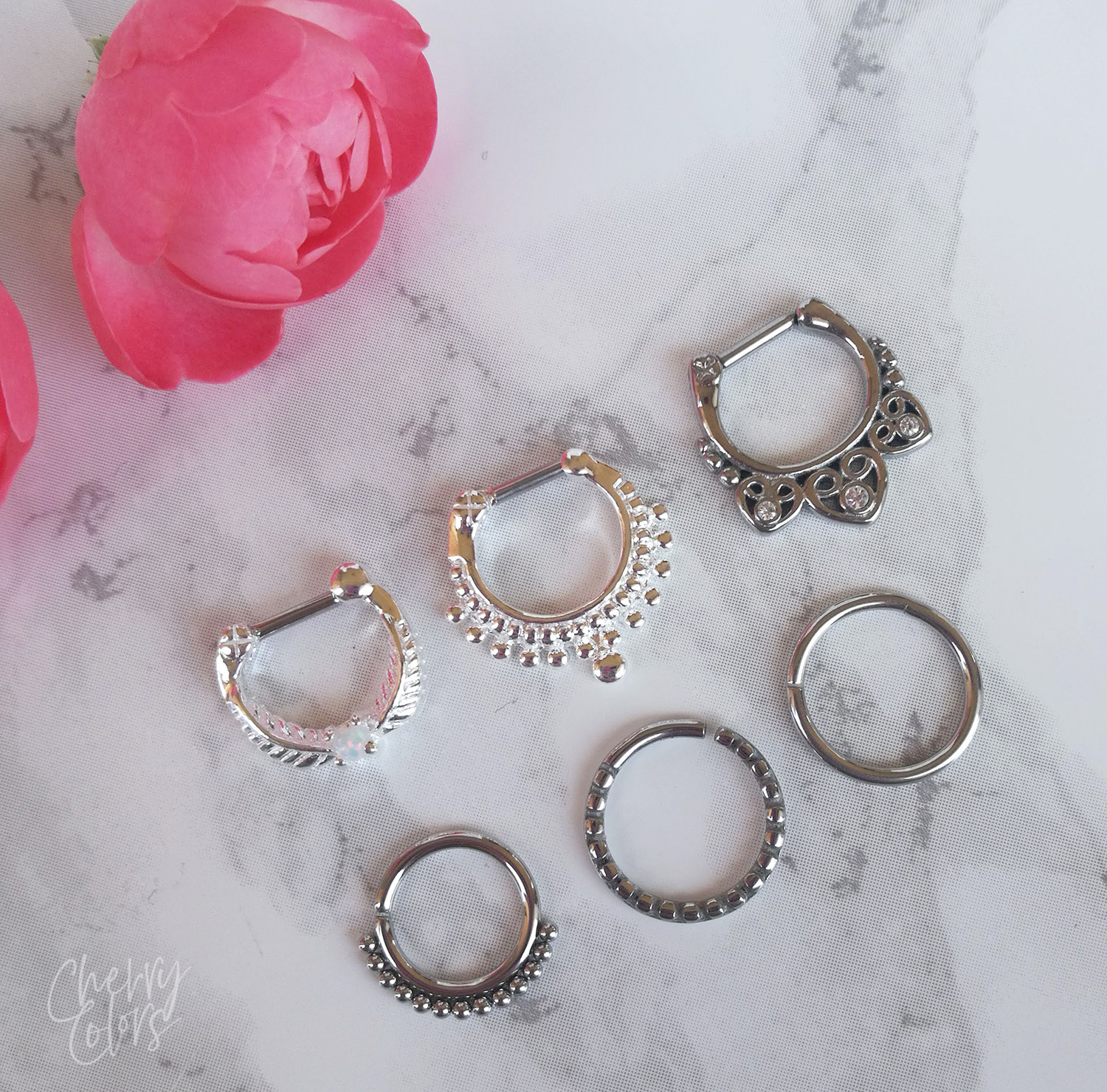 SEPTUM PIERCINGS FOR ALL OCCASIONS