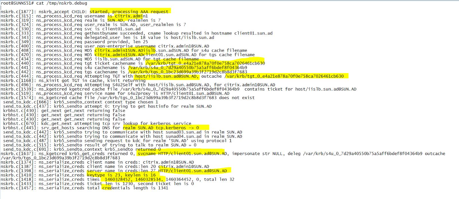 My Home Netscaler Lab: Netscaler PKINIT - Single sign to