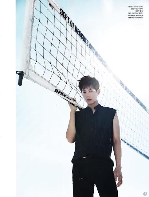 韓星朴寶劍近期為《ELLE》雜誌前往LA拍攝畫報。