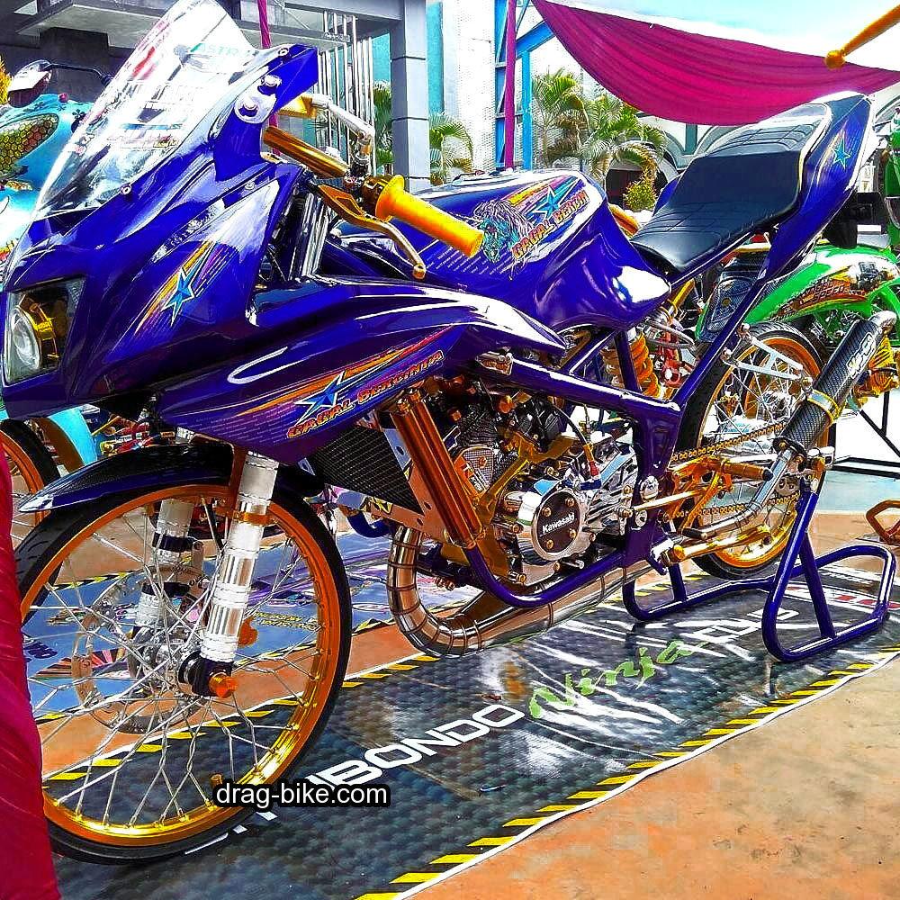 63 Foto Modifikasi Motor Kontes Terlengkap Teka Teki Motor