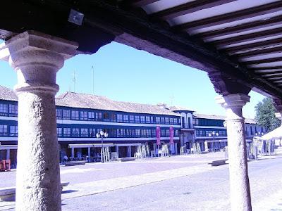 Medieval Plaza de Almagro