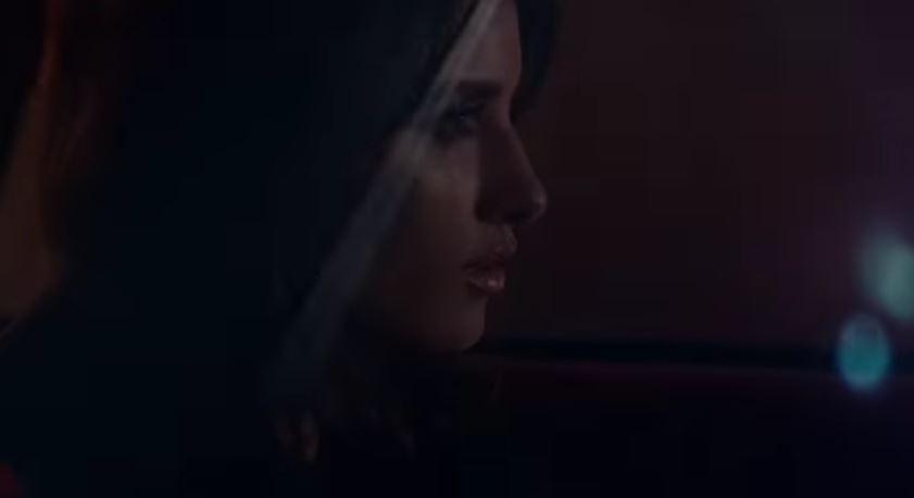 Modello e modella Lancome pubblicità Profumo Tresor La Nuit, amore a primo incontro con Foto - Testimonial Spot Pubblicitario Lancome 2016