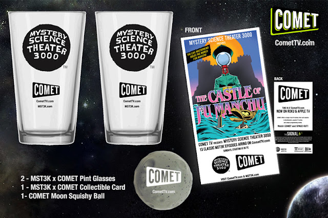 Mystery Science Theater 3000 Prize Pack