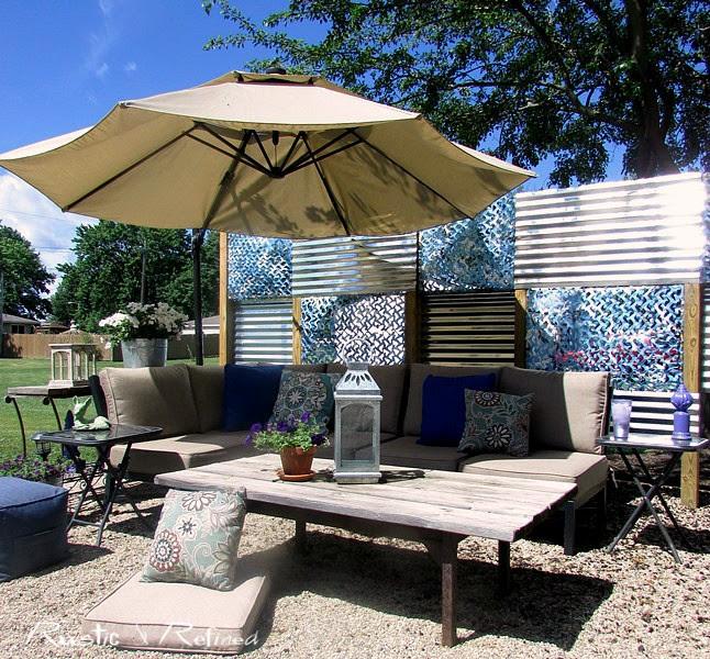 Backyard Patio on a Budget