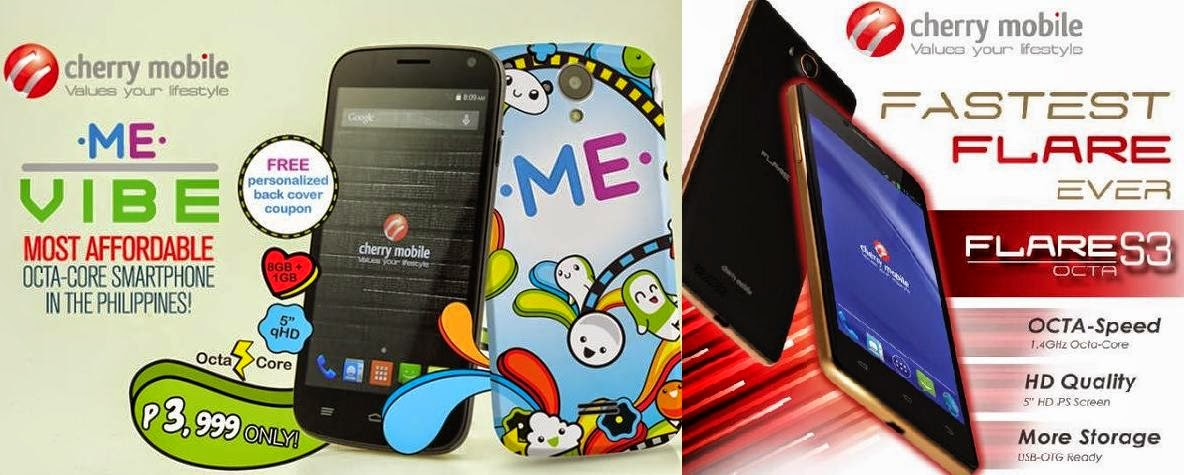 Cherry Mobile ME Vibe Versus Cherry Mobile Flare S3 Octa