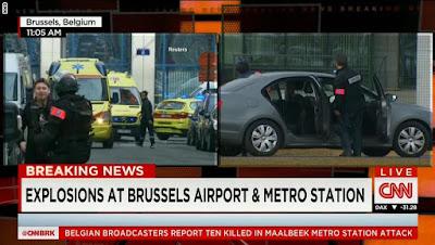 اخبار تفجير بروكسل بلجيكا