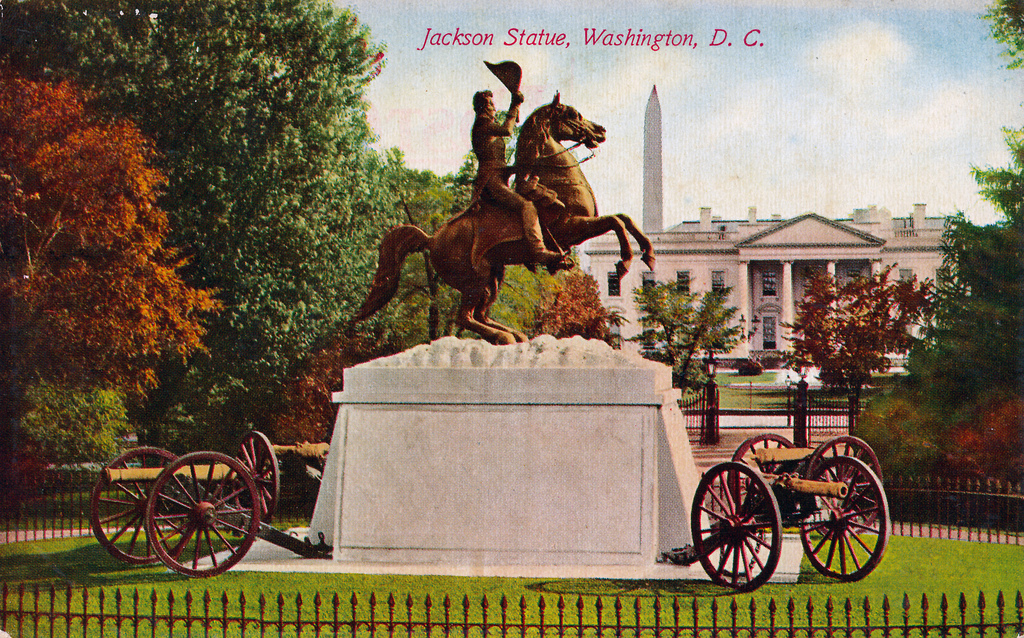 the racism of andrew jackson After months of campaigning jackson's newest mayor is on the  but that soon changed the real lumumba: racism and jackson - msnewsnowcom  (ap photo/andrew harnik.